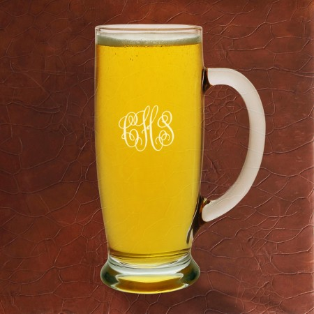 Pilsner Mug Set - with Monogram