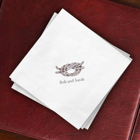 Prentiss Dinner Napkins - Knot Design