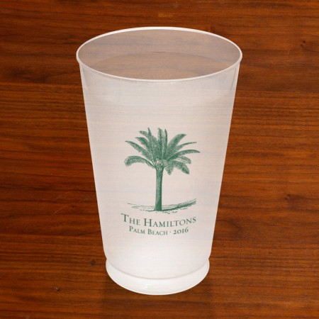 Prentiss Frost Flex Tumbler - Palm Tree Design