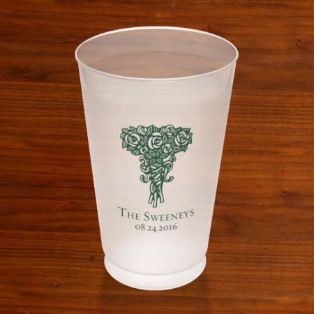Prentiss Frost Flex Tumbler - Roses Design