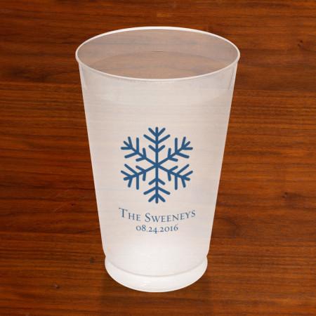 Prentiss Frost Flex Tumbler - Snowflake Design