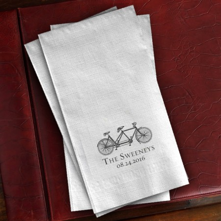 Prentiss Guest Towels - Bike Design