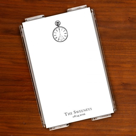 Prentiss Memo Set - Clock Design