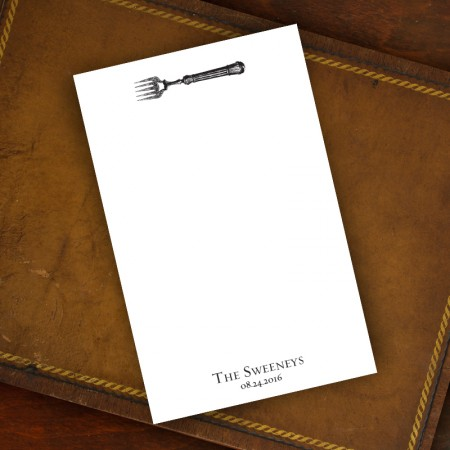 Prentiss Memo Set - Fork Design Refill