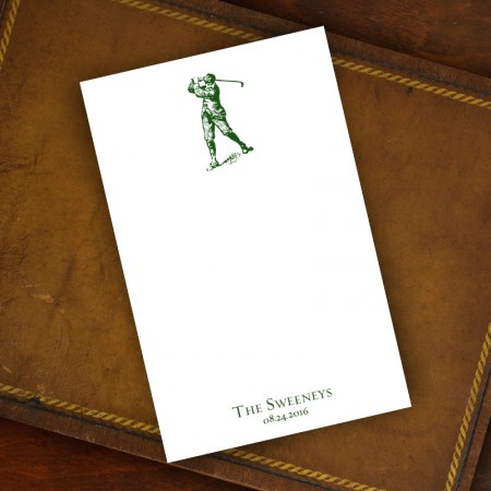 Prentiss Memo Set - Golfer Design Refill