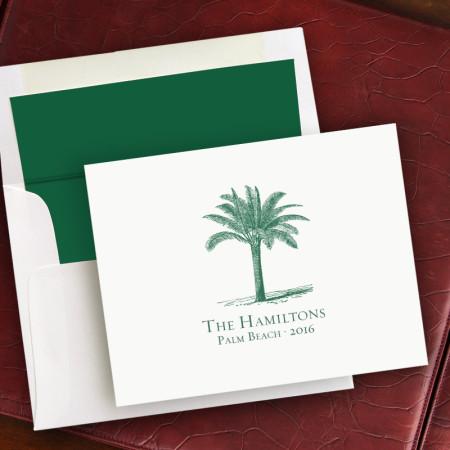 Prentiss Notes- Palm Tree Design