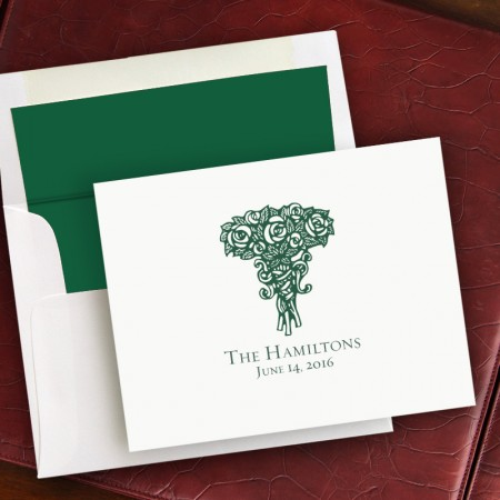 Prentiss Notes- Roses Design