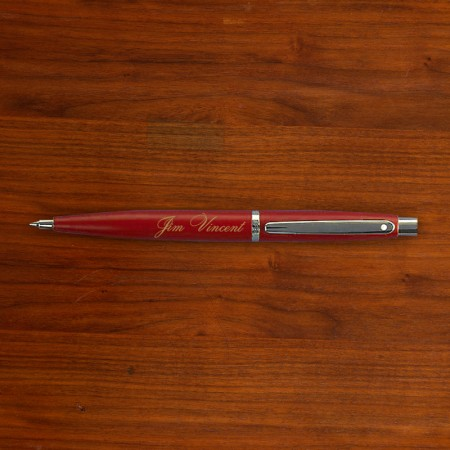 Red Sheaffer® Pen - Personalized