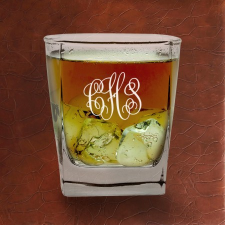 Rocks Glass Set - with Monogram