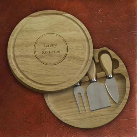 Round Pocket Cutting Board