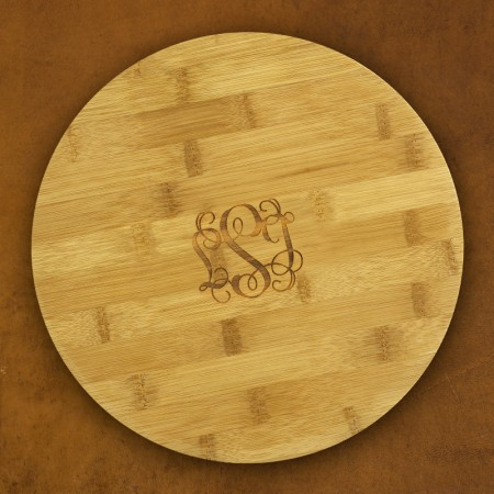 Small Lazy Susan - with Monogram