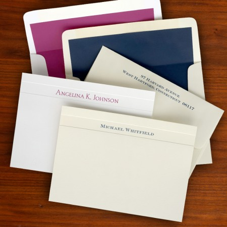 Wilshire Correspondence Cards