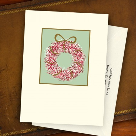 Wreath Greeting Card