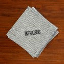 Caspari® Charcoal Herringbone Cocktail Napkins