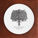 Prentiss Letterpress Coasters- Bouquet Design