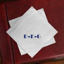 Caspari® Everyday Buffet Napkins - with Monogram