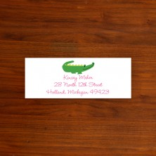 Alligator Address Label