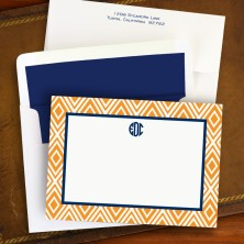 Mod Diamond Correspondence Cards