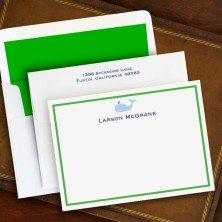 Whale Correspondence Cards