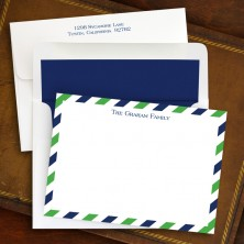 Via Green & Blue Correspondence Cards