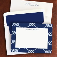 Nautical Knot Navy Correspondence Cards