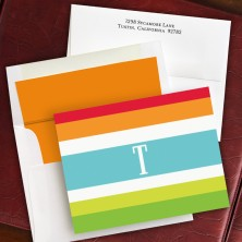Espadrille Bright Fold Notes