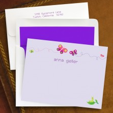 Butterflies Correspondence Cards