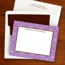 Bursts Small Correspondence Cards