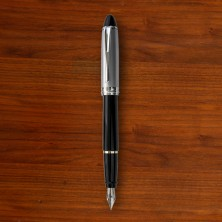 Black & Chrome Fountain Pen