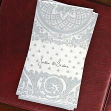 Caspari® Jacquard Guest Towels