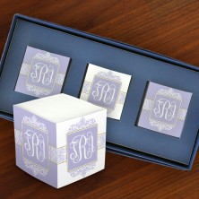 Decorative Mini Self Stick Memo Cubes - Format 3