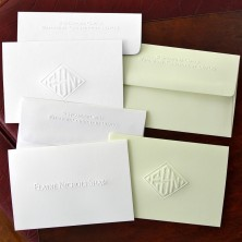 Embossed Stationery - Notes