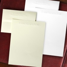 Embossed Stationery - Sheets