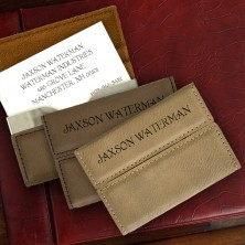Executive Card Holder & Business Cards
