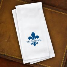 Fleur de Lis Guest Towels