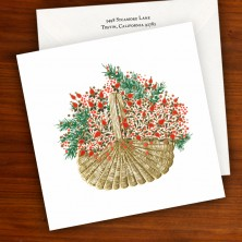 Holiday Basket Greeting Card