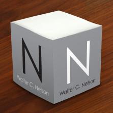 Merrimade Self Stick Memo Cubes - Block