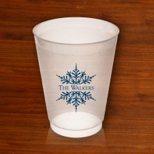 Snowflake 14oz Frosted Tumblers