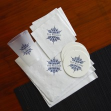 Snowflake Napkins & Accessories