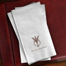 Prentiss Guest Towels - Wheat Ring Design