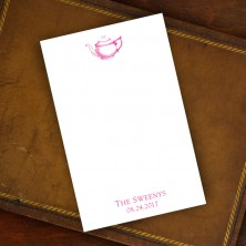 Prentiss Memo Set - Teapot Design Refill