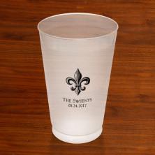 Prentiss Frost Flex Tumbler - Fleur De Lis Design