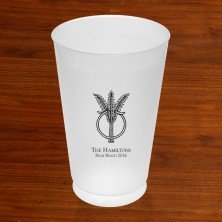 Prentiss Frost Flex Tumbler - Wheat Ring Design