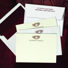Prentiss Letterpress Correspondence Cards - Knot