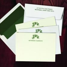 Prentiss Letterpress Correspondence Cards - Floral