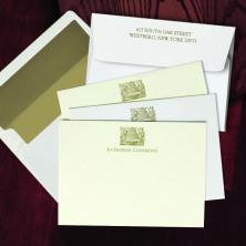 Prentiss Letterpress Correspondence Cards - Hive