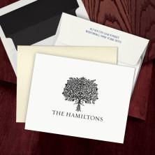 Prentiss Letterpress Fold Note -  Bouquet