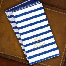 Bretagne Blue Caspari® Guest Towels