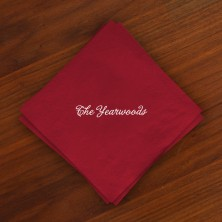 Caspari® Cranberry Cocktail Napkins