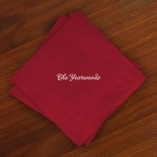 Caspari® Cranberry Luncheon Napkins